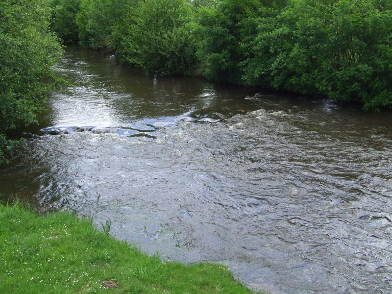 La Dronne, rivière à 200m de la maison