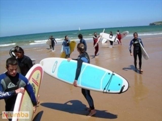 Playa especial para Surf y Deportes Acuáticos