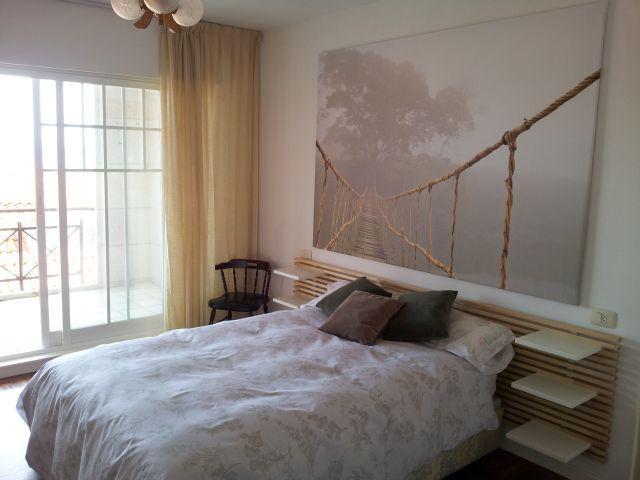 Dormitorio con terraza. Vistas al mar.