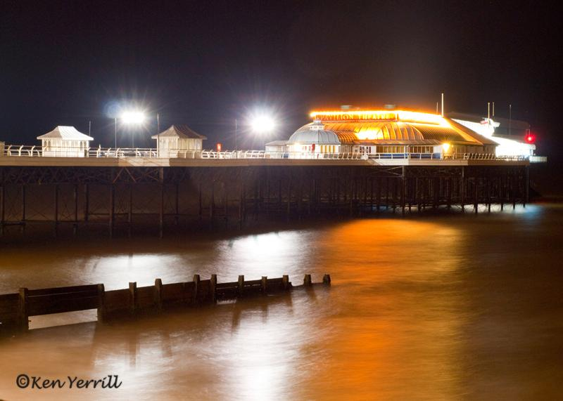 Cromer Pier - home of the famous Cromer crabs only a short drive,