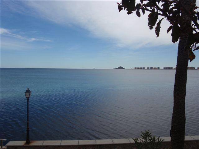 Duplex, 1a linea del Mar Mediterraneo, La Manga, vacation rental in La Manga del Mar Menor