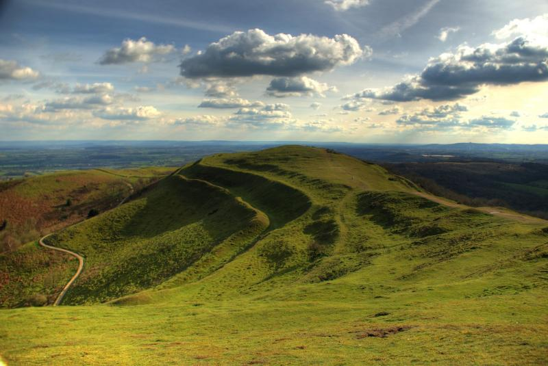 The Herefordshire Beacon.