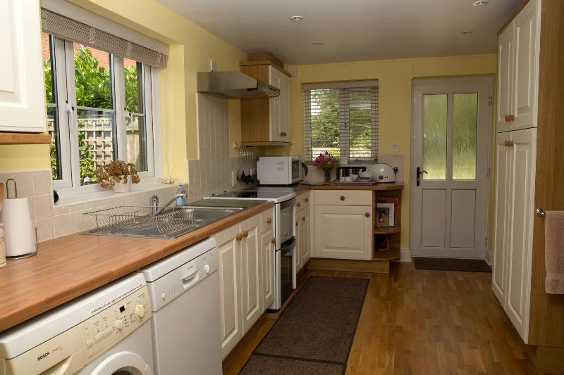 Well equipped kitchen with high spec appliances