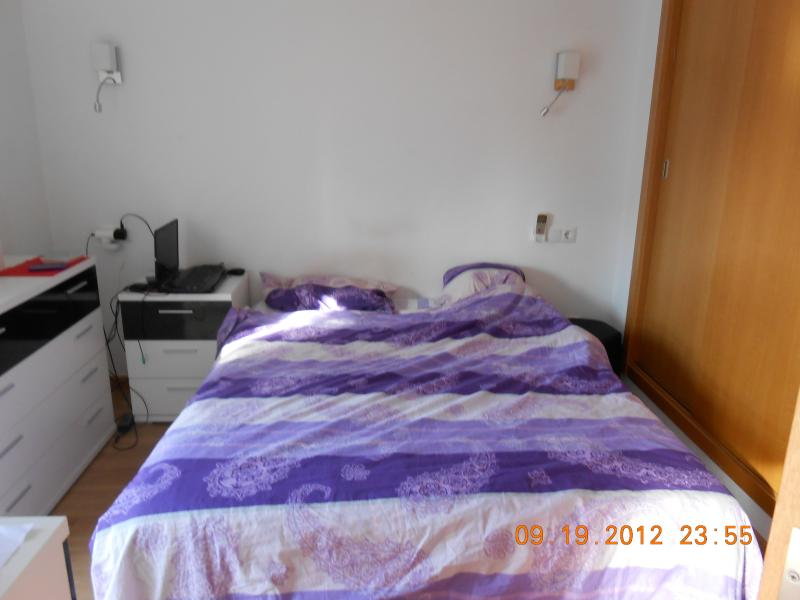 Main bedroom with 2 x 1.50 meters double bed