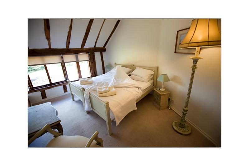 A bedroom in the main house (can be twin or double)