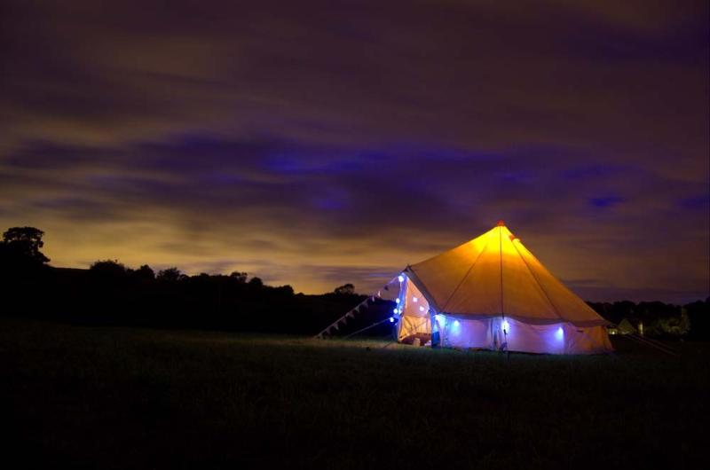 Bath Bell Tents - Annabell 4m Tent, holiday rental in Winsley