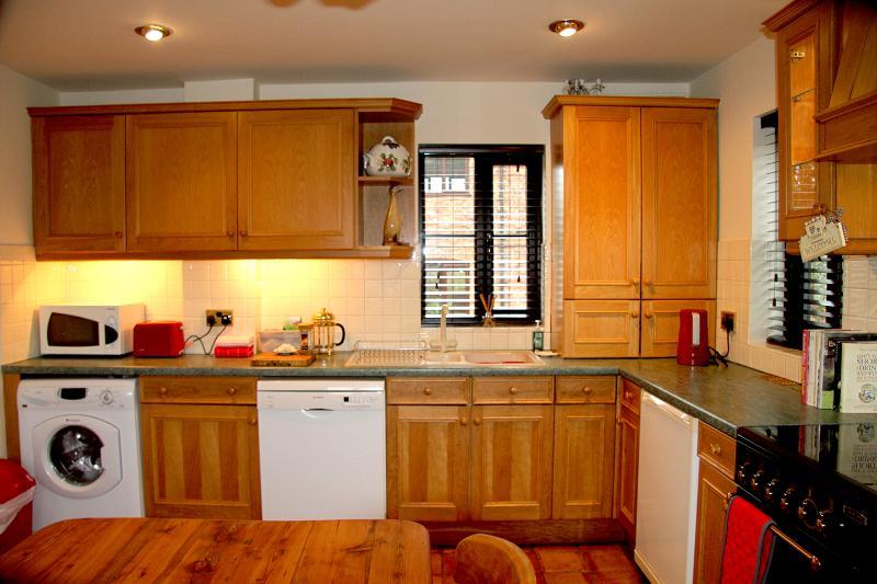 Good size farmhouse kitchen