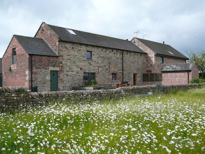 2 Award-winning barn conversions with enclosed garden area leading onto wildflower meadow area
