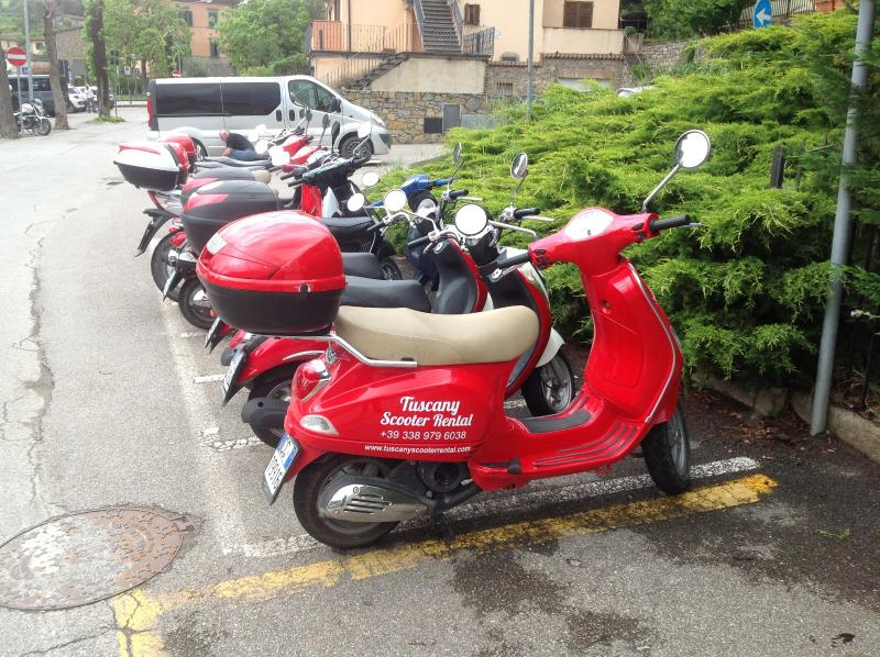 Rent a Vespa for the day !