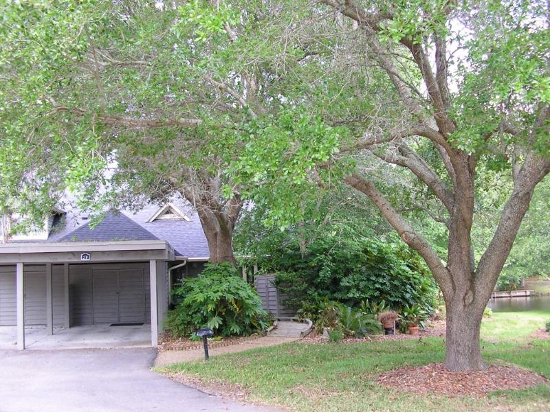 Exterior (Pic #2) - Heavily wooded and private w/carport; plenty of parking within 5-10 yards