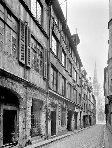 rue de la de l'année 1951 sur