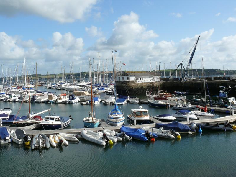 within walking distance of Mylor Yacht Harbour