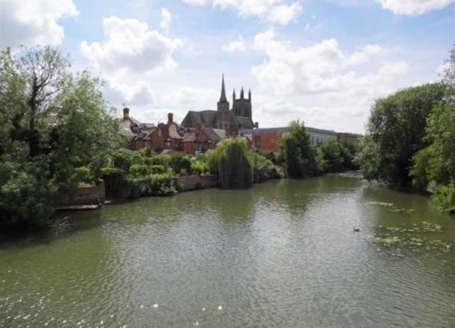 The local river - perfect for picnics and a spot of river punting