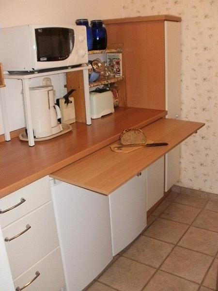 The kitchen provides all culinary equipment necessary to produce almost any cuisine that you desire