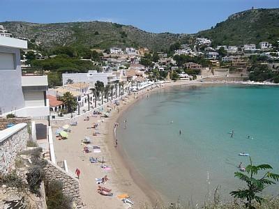 El Portet beach