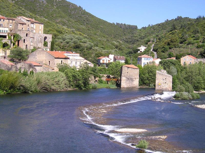The River Orb at Roquebrun
