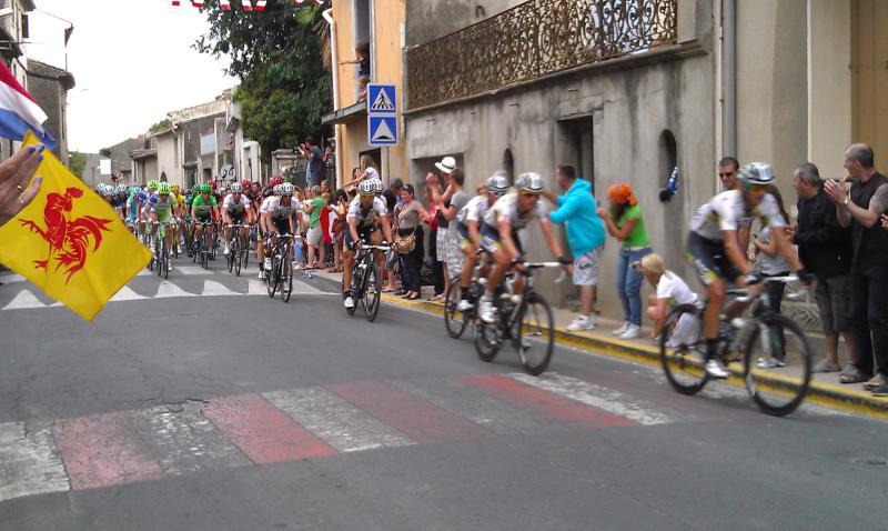 The Tour de France comes to our village - July 2011 !!