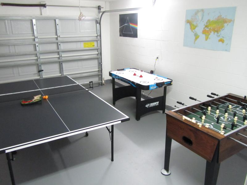 Internal View Of The Garage Games Room