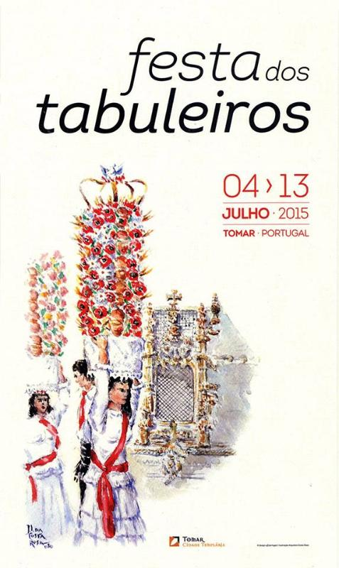 4 - 13 july 2015 festival at Tomar