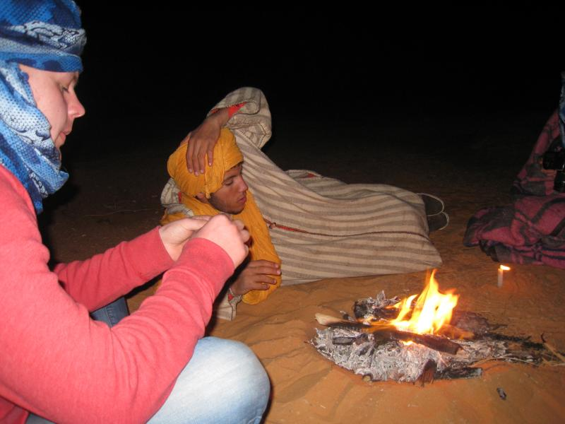 fir at our camp