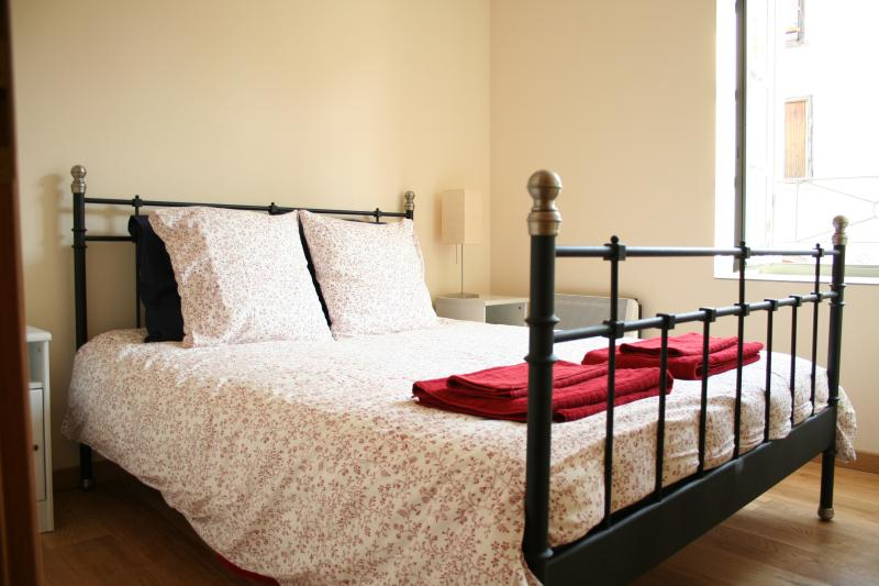 Comfortable king size bed with quality linen. A good night sleep is essential after a day exploring.