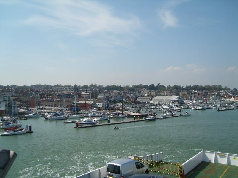 Take a trip by ferry to the Isle of Wight