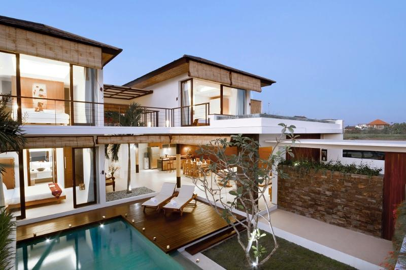 A very beautiful and modern villa in Bali.