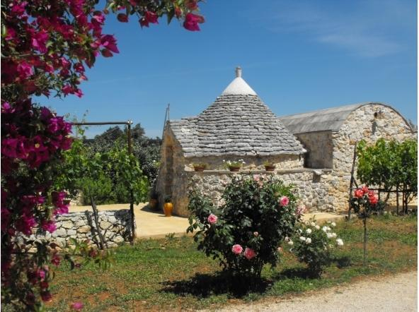 Trullo in Puglia, Alto Salento, holiday rental in San Vito dei Normanni