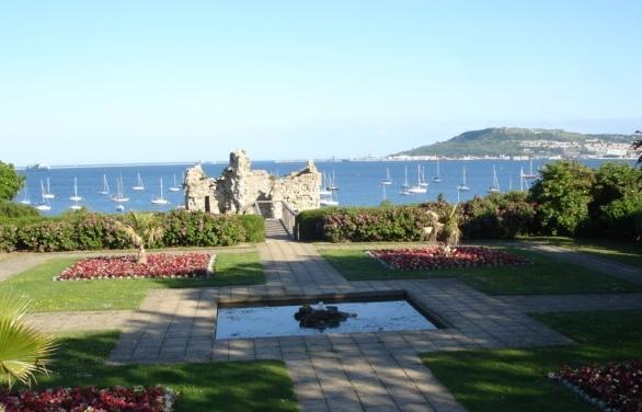 Sandsfoot Gardens & Castle ruins
