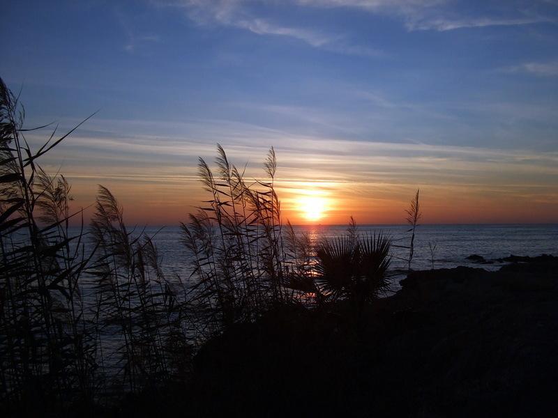 A beautiful Paphos sunset