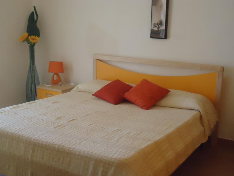 Appartamento Lipari camera da letto