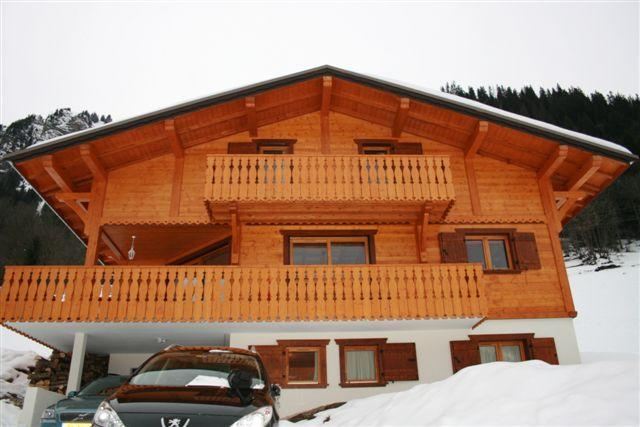 Frontview of Chalet Rose