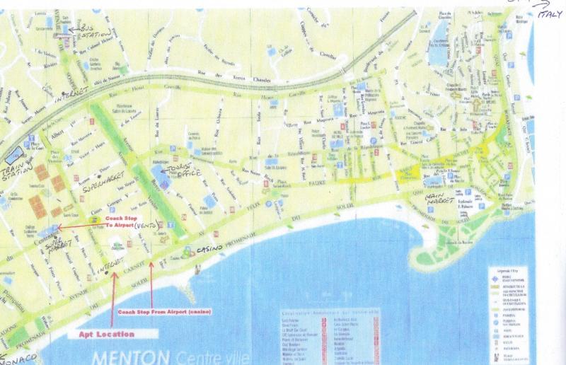 Apt. location on street map