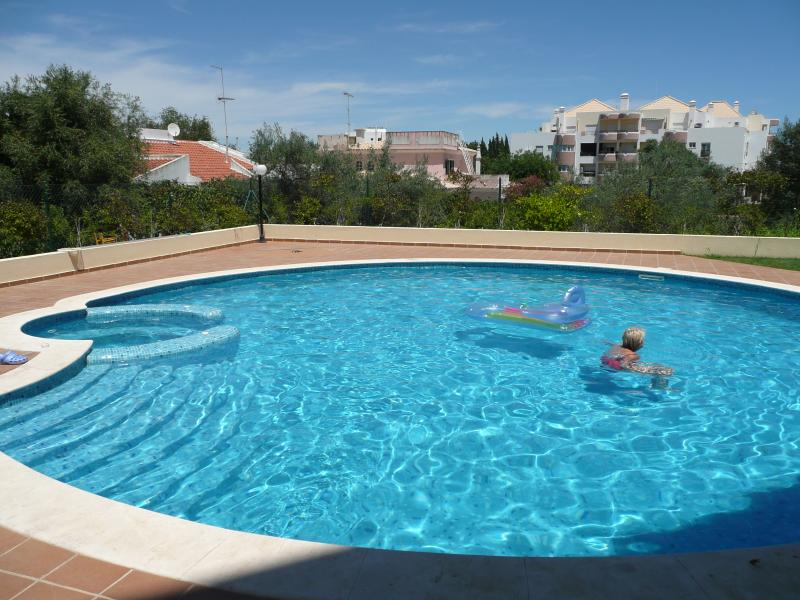 Enjoy yourself at the outdoor pool area.