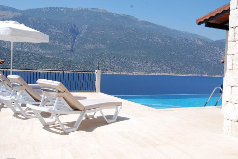 Villa Gunes Pool and View