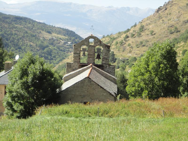 The ancient church at Vallcebollere, 'the village where time stands still'