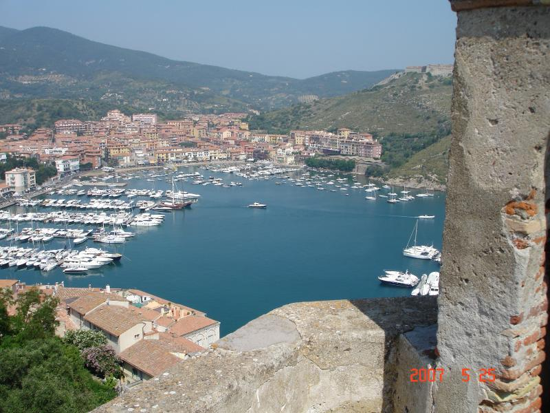 view from the walls of the Rocca
