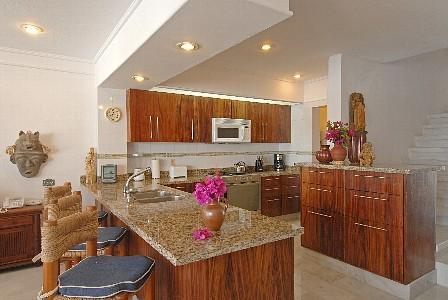Casa Parota remodeled kitchen