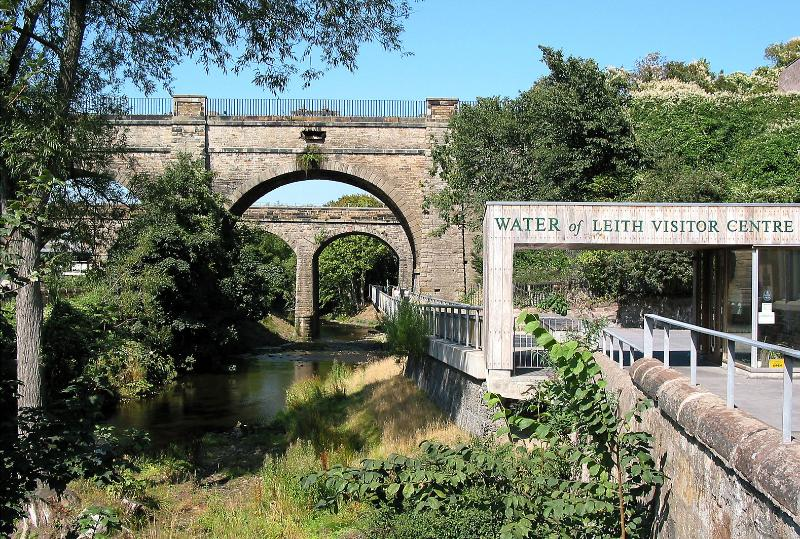 Enjoy a walk by the nearby Water of Leith