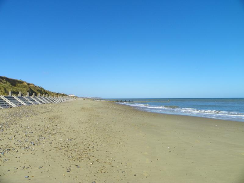Sand, sea and blue skies