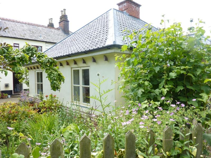The cottage from the garden