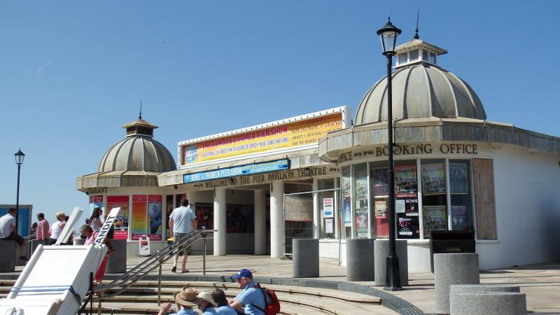 Visit Cromer Pier or even the Theatre at the end of the Pier