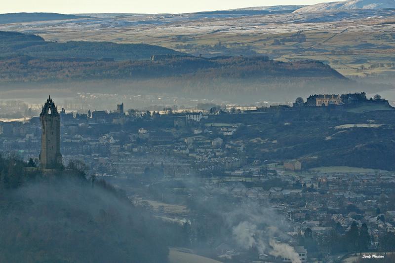 View from Ochil Hills