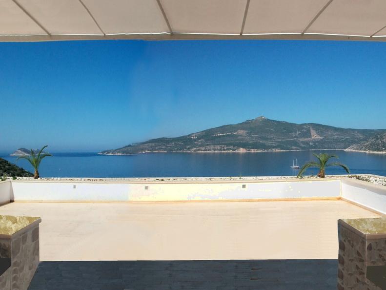 12 Seater Pergola - Roof Terrace