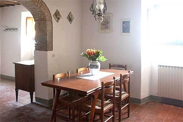The sunny dining room