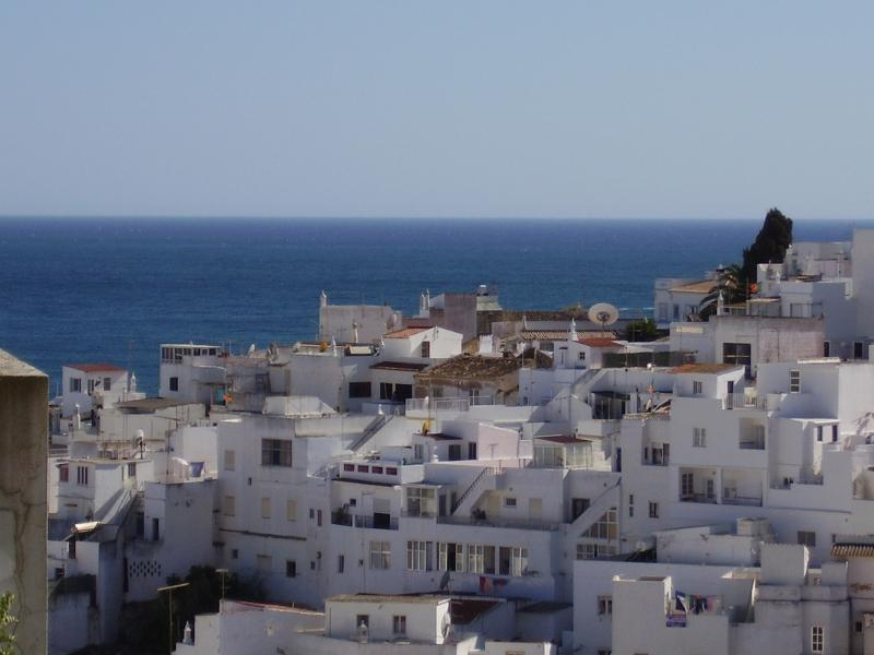 View of sea & Old Town from balcony