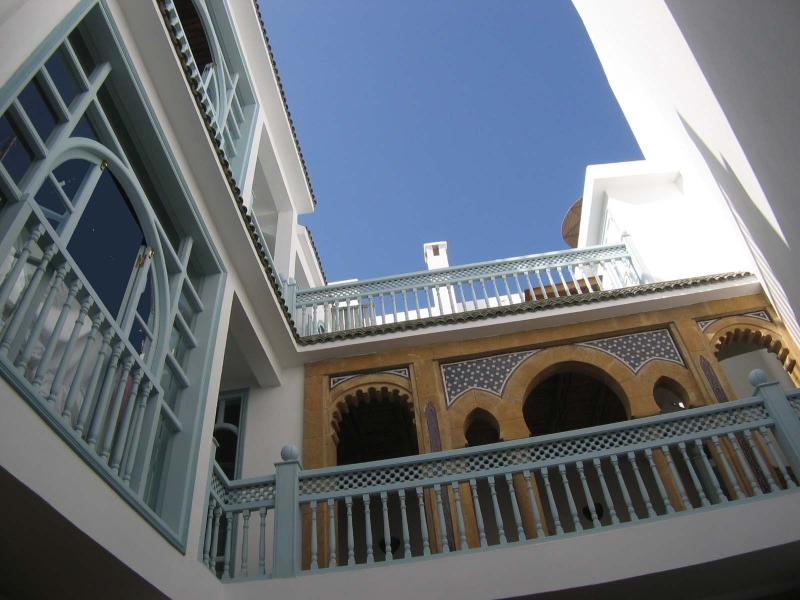 Dar Zette, A special riad in the heart of Essaouira's Medina. Sleeps 8: 4 Dbl bedrooms,  3 bath