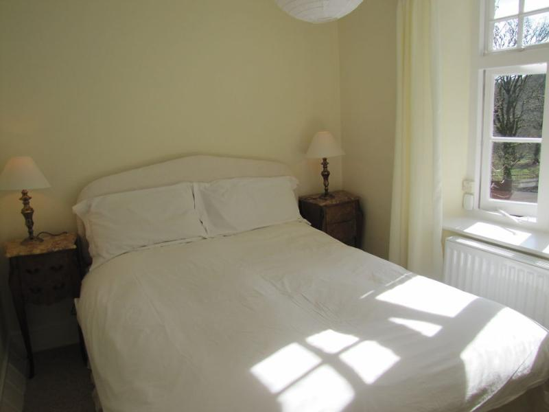 The smaller double bedroom