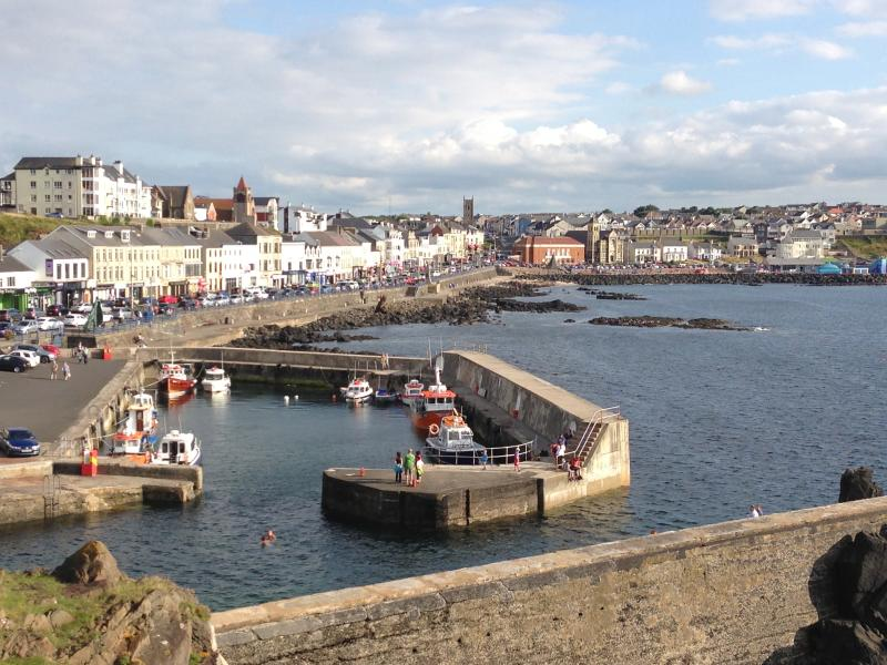 Portstewart Harbour and Promenade
