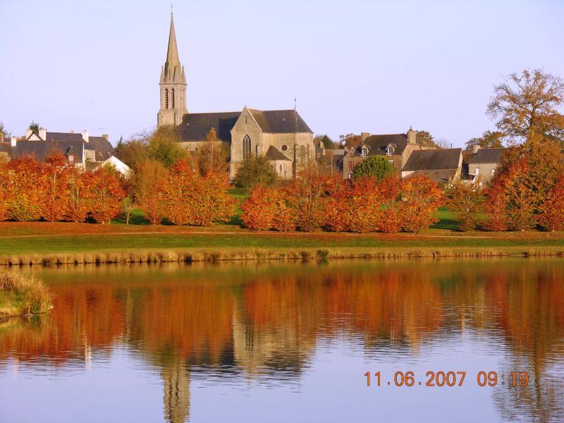 The Lake of Langourla in Autumn